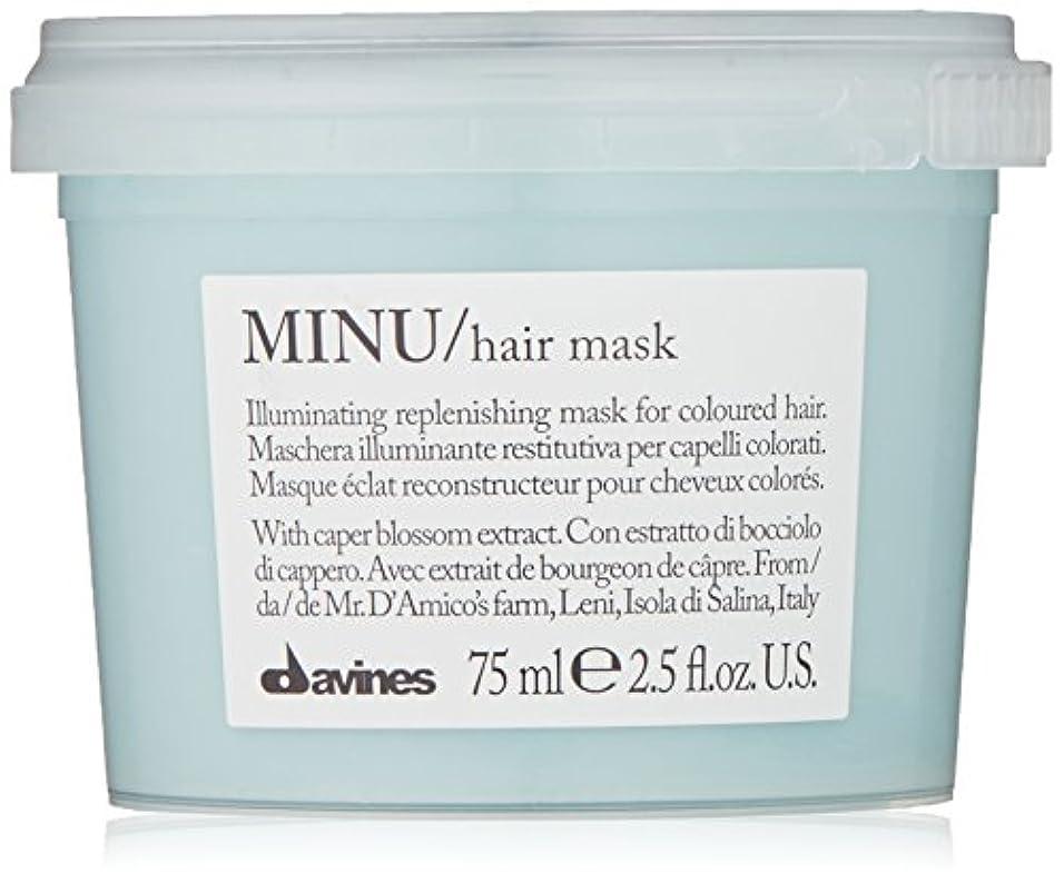 ルアー導入する情熱davines-hair Mask Minu Davinesフォーマットトラベル75 ML