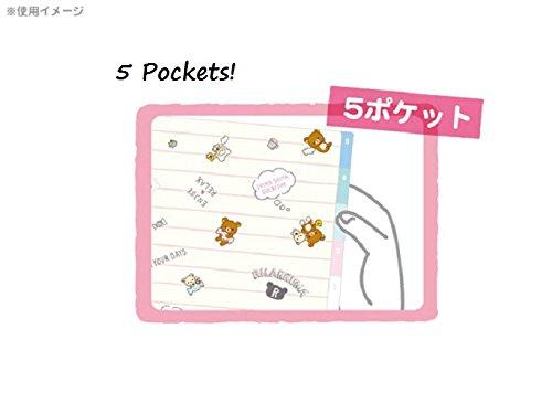 【たれぱんだ】インデックスホルダー/5ポケット