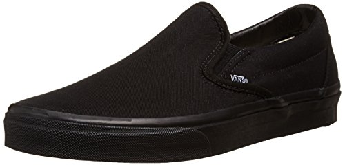 [バンズ] スニーカー Basic Classic Slip-On VN-0EYEBWW Black/Black US 8(26 cm)