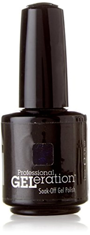 くびれた床を掃除するキャビンジェレレーションカラー GELERATION COLOURS 969 G コズミックナイツ 15ml UV/LED対応 ソークオフジェル