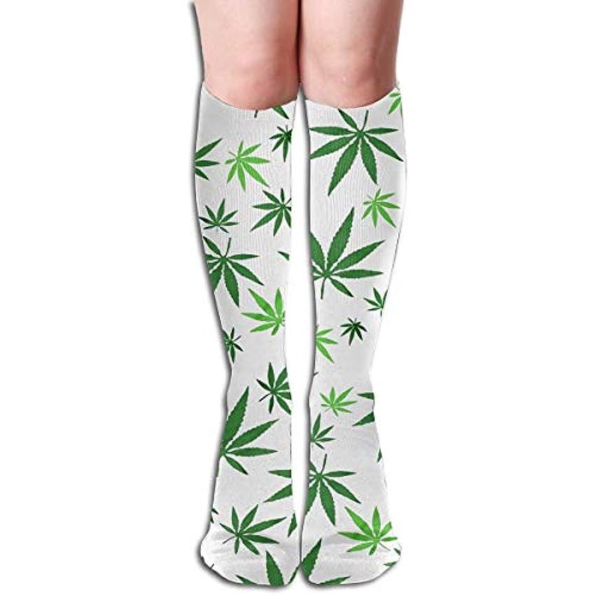 ピンチ失望させる個人的にQririy男性女性マリファナ雑草3 D長いクルー靴下、最高のストッキング実行、医療、運動、浮腫、糖尿病、静脈瘤、旅行、妊娠、妊娠