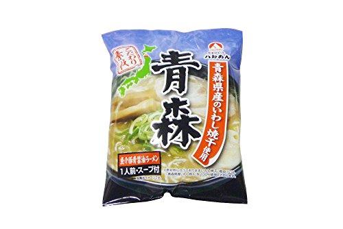 八郎めん 乾燥・こだわり素材 青森 魚介豚骨醤油ラーメン1食袋×5