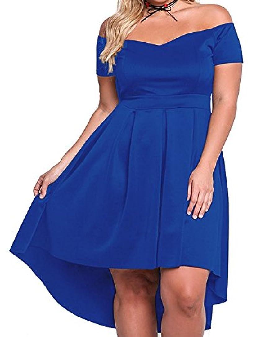 満員最初は摘むXAKALAKA DRESS US サイズ: 2XL カラー: ブルー