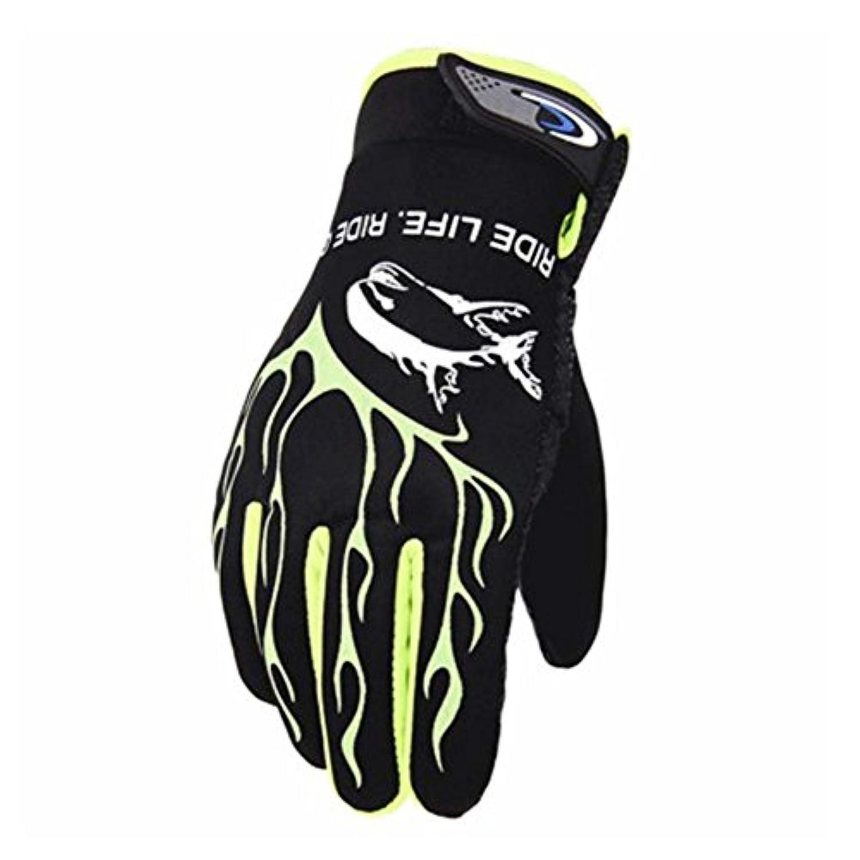 スキー手袋暖かい防水手袋スキーギアサイクリング手袋、07