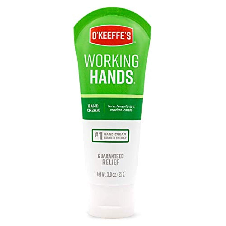 データ代わってスラダム(オーキーフス) O'Keeffe's  Working Hands ハンドクリーム 3オンス入りチューブ 1 Pack K0290004 1