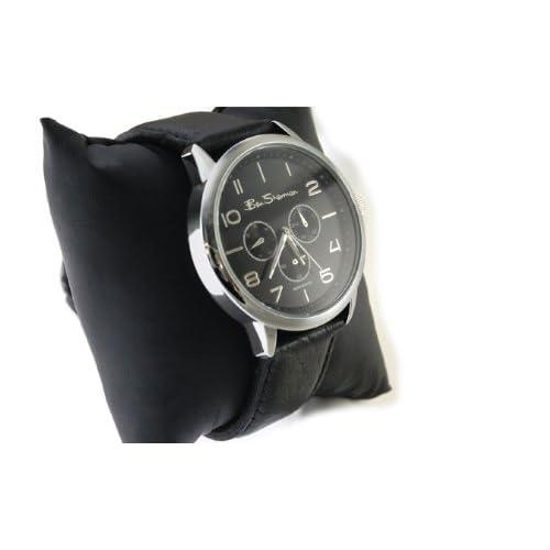 Ben Sherman ベンシャーマン クロノグラフ ブラック 腕時計 レザーベルト r562