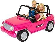 【Amazon.co.jp 限定】バービー(Barbie) バービーとケン ビーチクルーザー 【着せ替え人形・のりもの 】【ドール、アクセサリー付き】【3歳~】CJD12