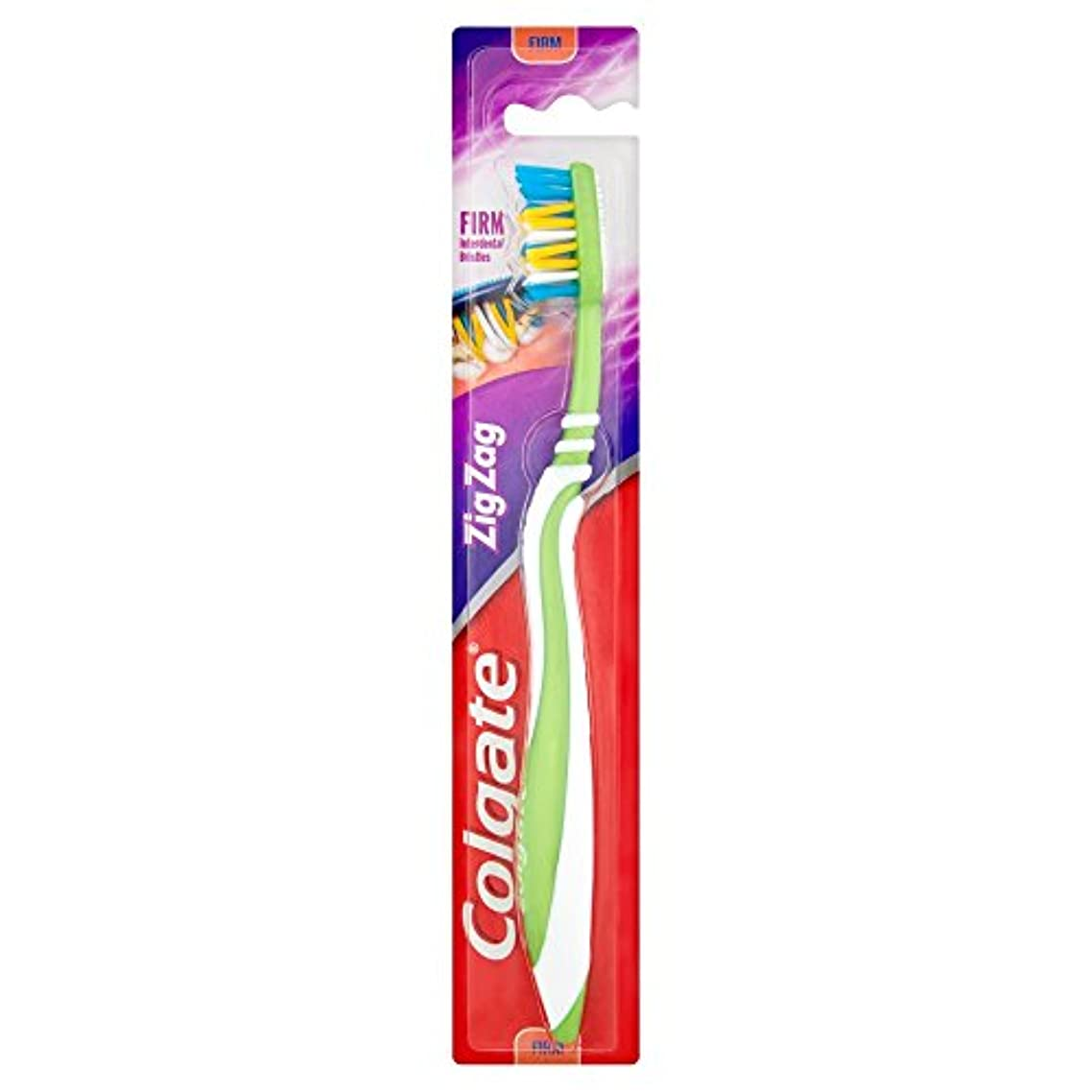 [Colgate ] コルゲートジグザグしっかり歯ブラシ - Colgate Zig Zag Firm Toothbrush [並行輸入品]