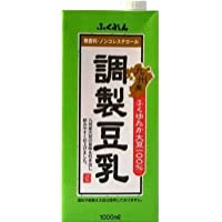 ふくれん 九州産ふくゆたか大豆 調製豆乳 1L紙パック×12(6×2)本入
