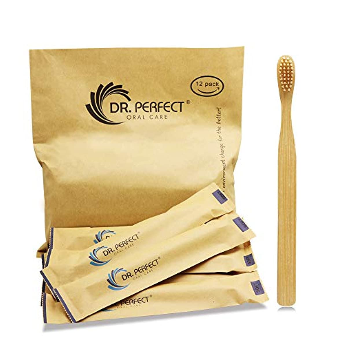 便益身元資産DR.PERFECT 竹歯ブラシ柔らかい天然剛毛 竹