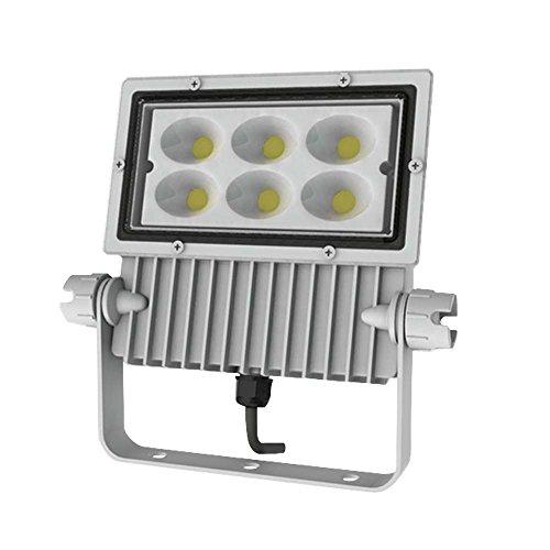 アイリスオーヤマ 屋外LED照明 角型投光器68W 4400lm ホワイト IRLDSP75L-W-W 事