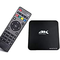 Android 6.0 アンドロイドTV BOX 4K対応 AV/HDMI接続可 コンパクトサイズ Wi-Fi/LAN対応 HDMImicroSD/USBメモリ再生 多目的マルチメディアプレーヤー FMTMP031