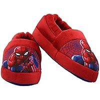 Marvel Spider-Man Toddler Boys Plush Aline Slippers