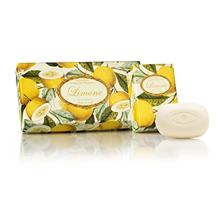 リム細菌引き算フィレンツェの長い歴史から生まれたこだわり石鹸 レモン【150g×3個セット】