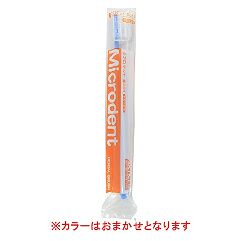 ものソース演じる白水貿易 ミクロデント(Microdent) 1本 (#231)
