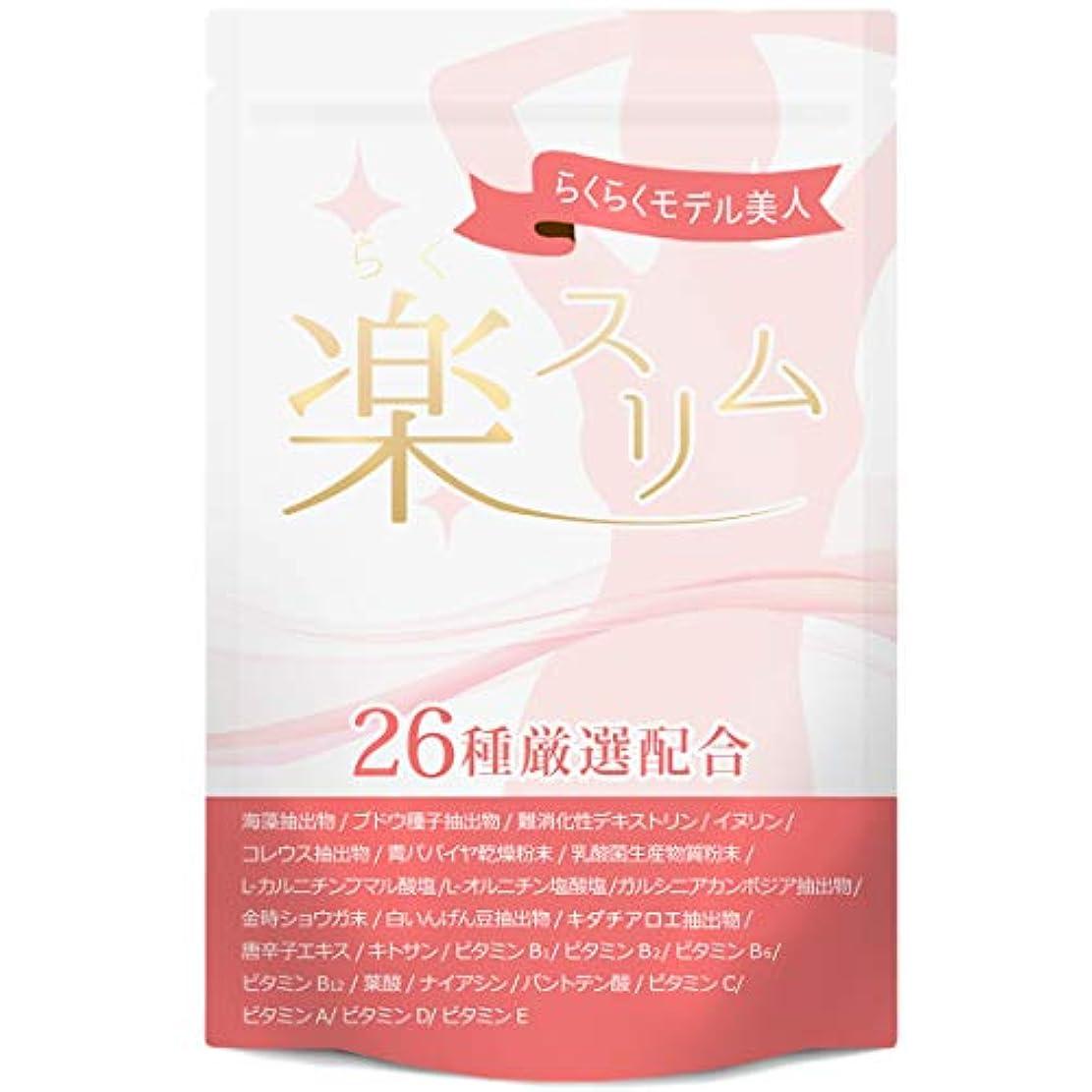 変数ビルダーダンプダイエット サプリ 楽スリム 燃焼系 サプリメント ダイエットサプリ 60粒30日分