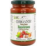 Chef's Choice Organic Napoletana with Italian Chilli Pepper Pasta Sauce 350 g