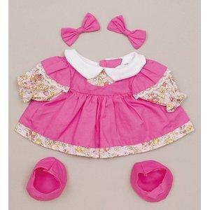 プチハピコレクション01ピンクワンピース(靴、リボン付)「うたこちゃん」専用お洋服 [簡易パッケージ品]