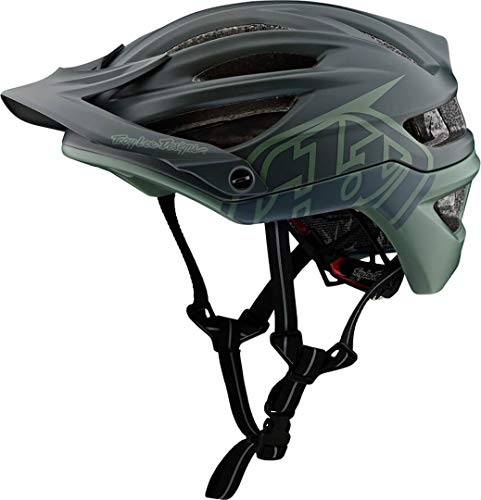 Troy Lee Designs A2 AS MIPS Bike Helmet Decoy Black/Flight Green