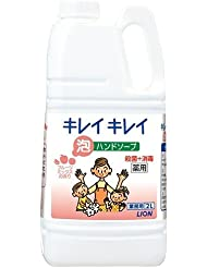 キレイキレイ 薬用泡ハンドソープ フルーツミックスの香り 大容量(2L) 日用品 洗面?バス用品 ハンドソープ [並行輸入品] k1-4903301257974-ak