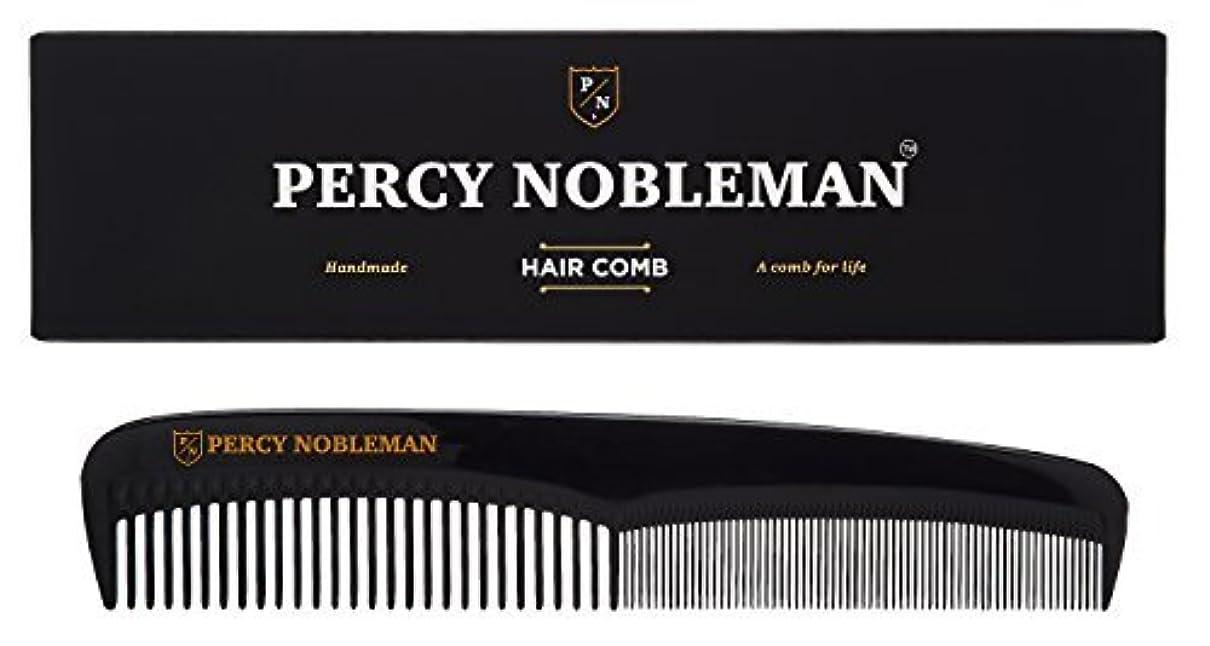 輸送魅力カルシウムPercy Nobleman Hair Comb (Black) [並行輸入品]