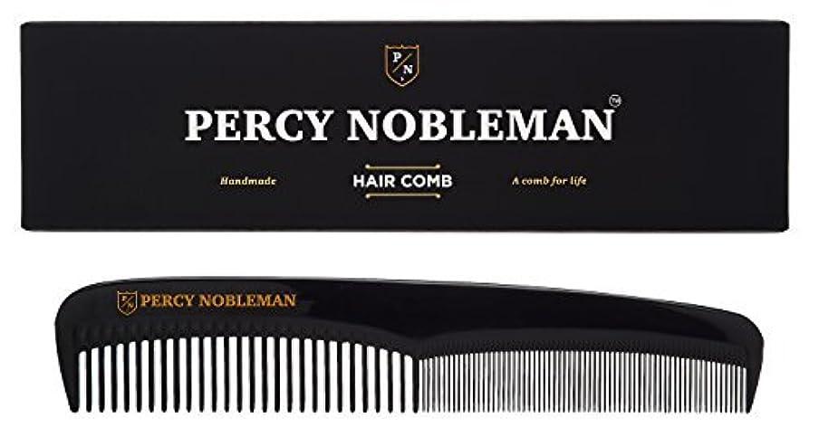 不機嫌巻き戻すだらしないPercy Nobleman Hair Comb (Black) [並行輸入品]