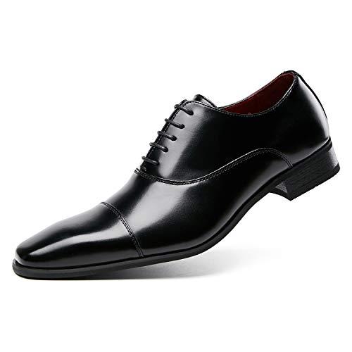 [CITUS] ビジネスシューズ 革靴 レースアップ メンズ ブラック 24.5 cm