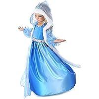 キッズコスチューム 女の子 シンデレラ ドレス 子供 プリンセス ドレス ハロウィン コスプレ フード付き