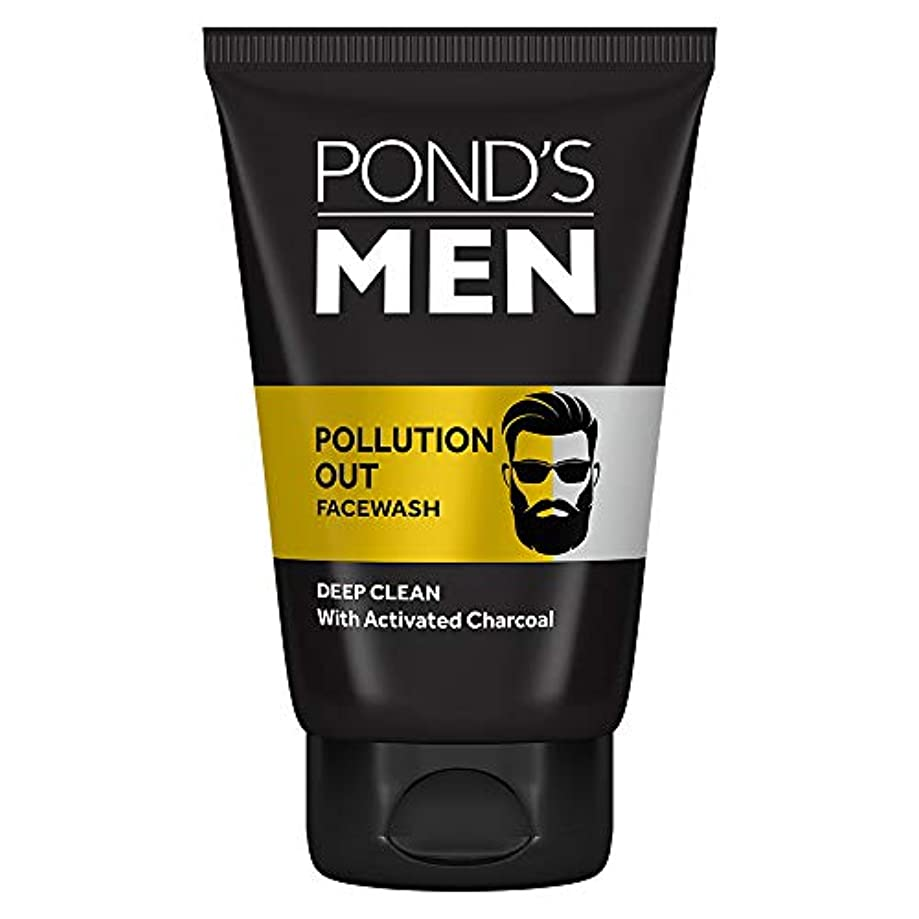 引き潮費用衝動Pond's Men Pollution Out Face Wash, Feel Fresh 100gm