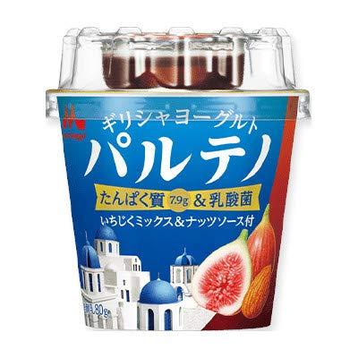 森永乳業 ギリシャヨーグルト いちじくミックス&ナッツソース (80g+9g) 12個