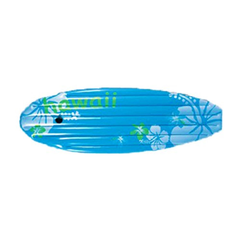 浮き輪 フロート ブルー サーフボード型 ヒモ付 150×53cm 大人 子供 プール用品 海水浴 うきわ _85202