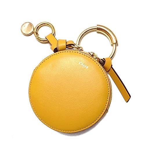[クロエ]CHLOE' 財布 コインケース CHC17AP940H1Z6P1 COIN PURSES Dark Ochre イエロー レザー [並行輸入品]