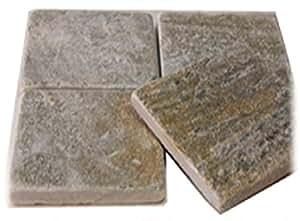 [敷石 鉄平石 タイル 石材]とっても綺麗なイエロー鉄平石st20