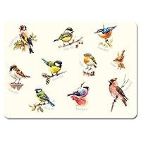 Garden Birdsメラミンプレースマット - セット1、6個入り