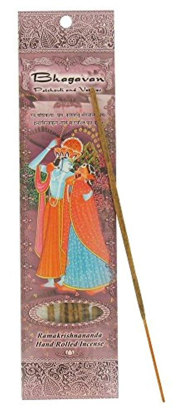 お誕生日小屋潤滑するIncense Sticks Bhagavan – Patchouli and Vetiver