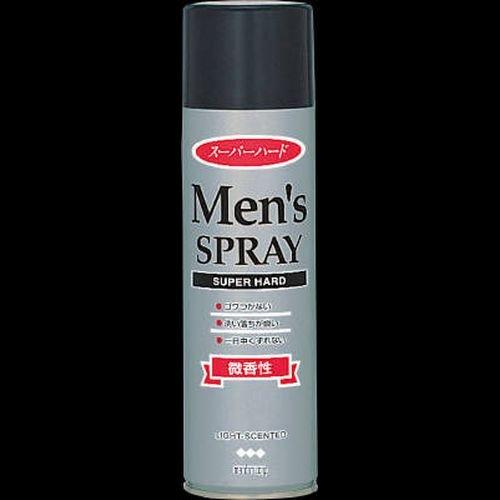 【まとめ買い】マンダム メンズヘアスプレー スーパーハード 275g 微香性 ×2セット