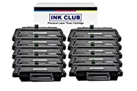 InkClub 10pkプレミアムRemanufactured mlt-d109s、mlt-d109s / XAAブラックトナーカートリッジ互換for scx-4300