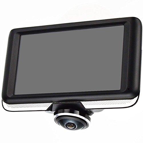 AKEEYO 360°全方位動画記録可能 ドライブレコーダー ループ録画 300万画素 高画質 1440×1440 エンジン連動自動録画 駐車監視 G-Sensor 16GBカード同梱 日本語取扱説明書_AKY-360-D1 (AKEEYO AKY-360-D1 ドライブレコーダー)