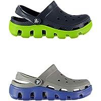 Official Brand Crocs Duet Sport Sandals Infants Boys Flip Flop Thongs Beach Shoes