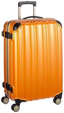 [ビータス] スーツケース ハード 4輪 BH-F2000 保証付 54L 66 cm 5kg エンボスオレンジ