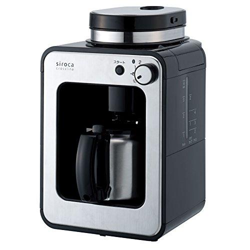 シロカ コーヒーメーカー 全自動 ステンレスサーバー シルバー 交換用フィルター特別セット STC-501TMF