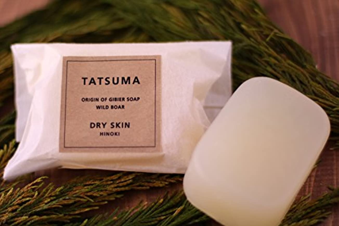 該当する富区画化粧石鹸(IC-3) 枠練り/釜焚き製法 | TATSUMA DRY SKIN HINOKI