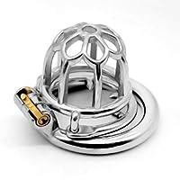 CS 反脱毛ラウンド貞操ロック付き脱落防止男性のための代替おもちゃ耐摩耗性純銅ロックハートバックパック (Size : 45mm)