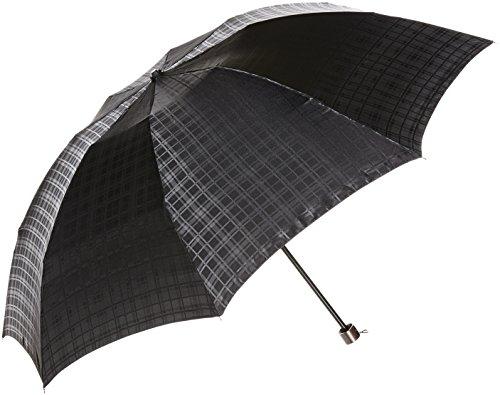 (ムーンバット)MOONBAT MAXIME LABEYRIE 紳士少し大きめサイズの折りたたみミニ傘 日本生地使用 ジャガード織 格子柄