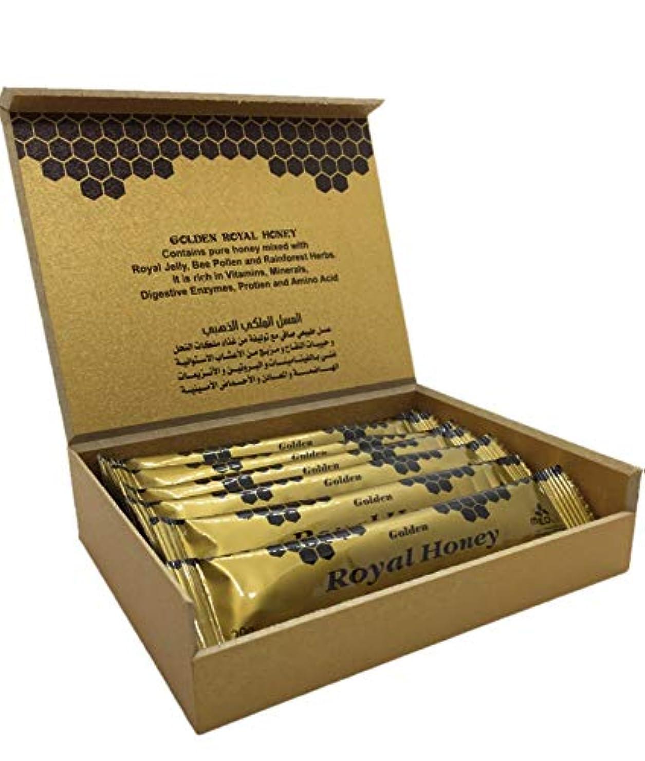 みぞれ休戦レジゴールデンロイヤルハニー Golden Royal Honey 20g×12袋入 【海外直送品】