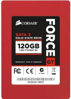 CORSAIR Force Series GT CSSD-F120GBGT-BK