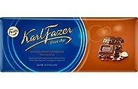 Karl Fazer ヘーゼルナッツ チョコレート 200g 10枚セット (2kg) フィンランドのチョコレートです [並行輸入品]