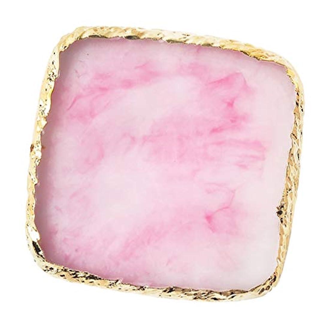つらい最高現象IPOTCH ネイルアート カラーブレンド ミキシングパレット 樹脂製 6色選べ - ピンク