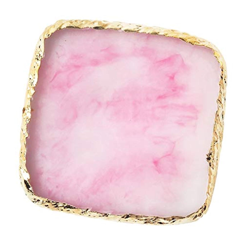 寸前責任ポーンIPOTCH ネイルアート カラーブレンド ミキシングパレット 樹脂製 6色選べ - ピンク
