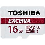 東芝 EXCERIA microSDHC16GB Class10 UHS-1対応 最大読込速度48MB/s 防水/耐X線 海外パッケージ品 THN-M301R0160A4